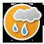 nuvolosità variabile con pioggia