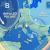 Impulsi Polari sull'Europa, a fine gennaio torna il freddo, sull'Italia Pioggia e neve a bassa quota